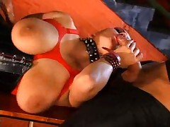 Liana latex double fuck
