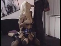 Sibylle Rauch - German Milf fucked by two guys