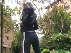 Maria Jose fucking after exercising