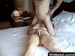 Interracial couple hotel sex tape