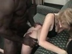 Her Husband Let Her Try A Black Monster