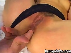Asian babe Katsumi gets double penetrated