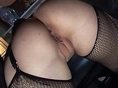 2 Anal sluts in Stockings