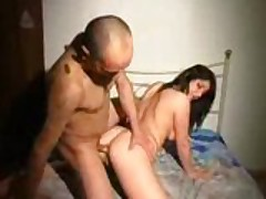 Fully bosomy brunette aggravation rammed hardcore