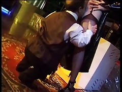 Jessica Rizzo with midget