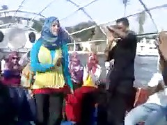 Arab Hijabi Whore Dancing 10