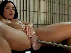 Monica Santiago Tests A Fucking Machine - Anal S88