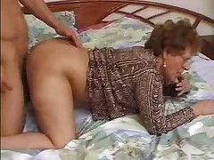 Grandma Caught Her Lover While Wanking