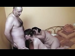 French Couple with a Granny - 2 R20
