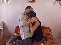 Amatrice mature et son mari lingerie