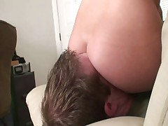 Hot facesitting fuck up puff up 1