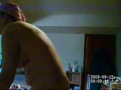 See my mom nude after shower