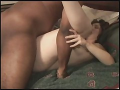 Swinger wife slut makes black man cum twice - snake