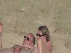 Hidden Vid of French Woman Fingered on Beach by snahbrandy